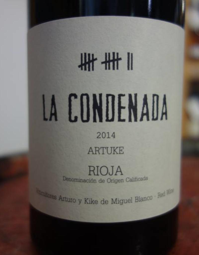 Bodegas Artuke, Rioja, Spain La Condenada 2014 Rioja, Artuke