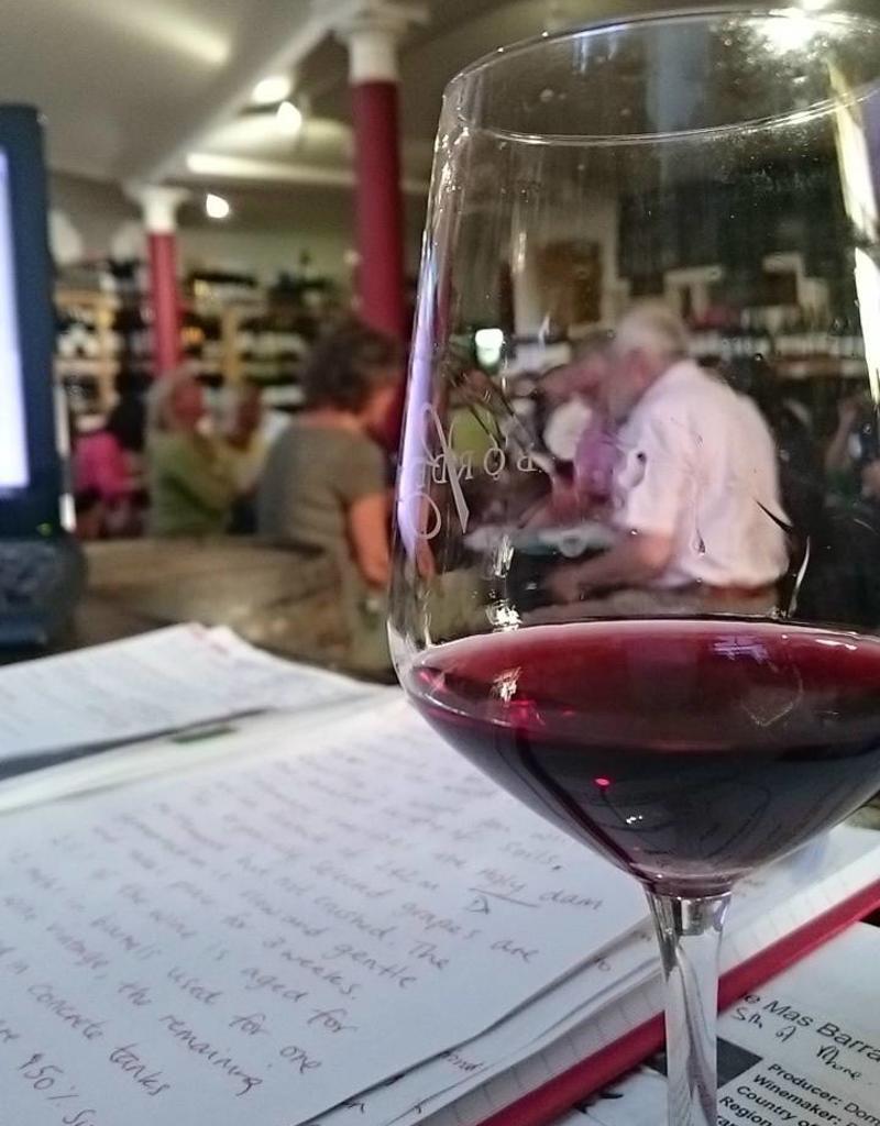 Wine tasting event: 15th June 2018