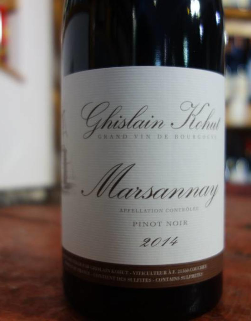 Marsannay Rouge 2014, Domaine Ghislain Kohut
