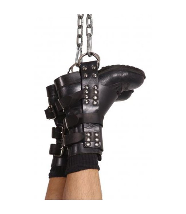 Strict Leather Boot Suspension Restraints