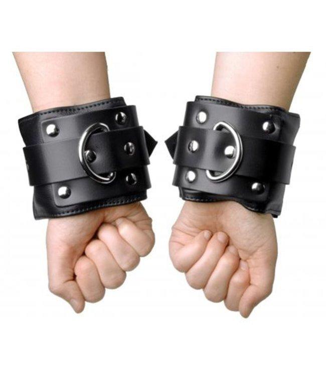 Strict Leather Luxe gevoerde handboeien