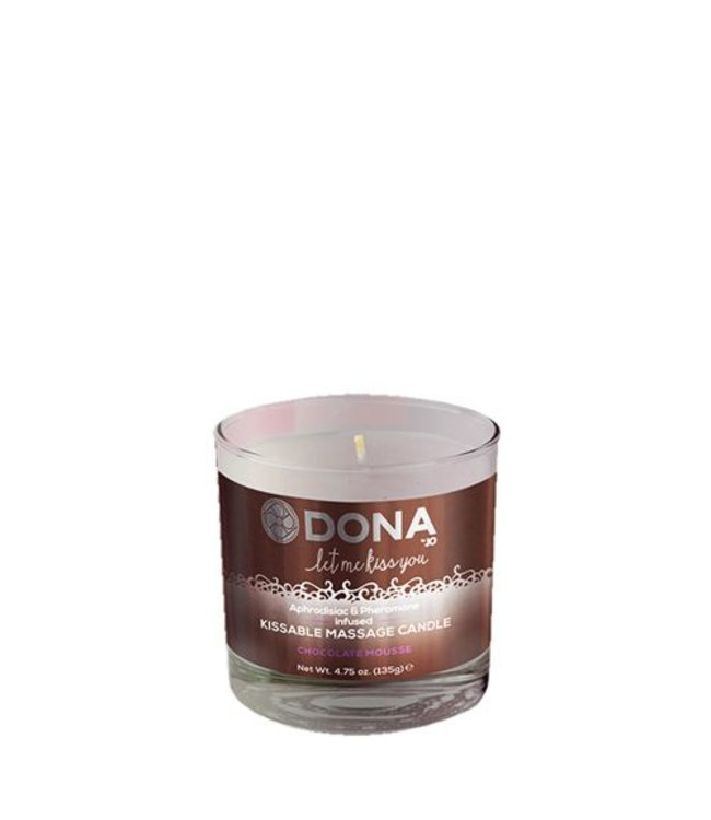 Dona-by-Jo Kissable Massage Candle Chocolate