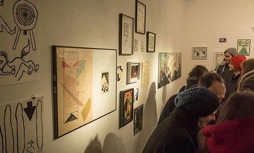 Isolation Camp Art Show Wien @ Oxymoron Galerie Dezember 2017