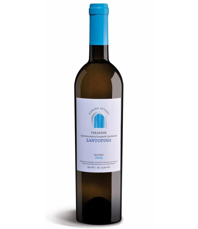 Tselepos Winery Canava Chrysou Santorini 2014