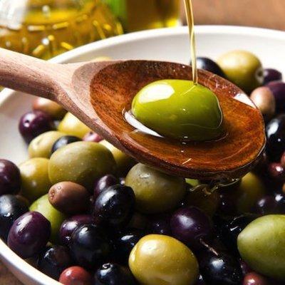 Olijfolie, olijven