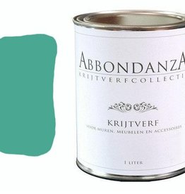 "Abbondanza Krijtverf collectie Krijtverf ""Aqua Green"""