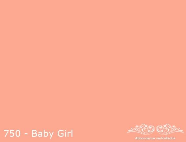 """Abbondanza Krijtverf collectie Krijtverf """"Baby Girl"""""""