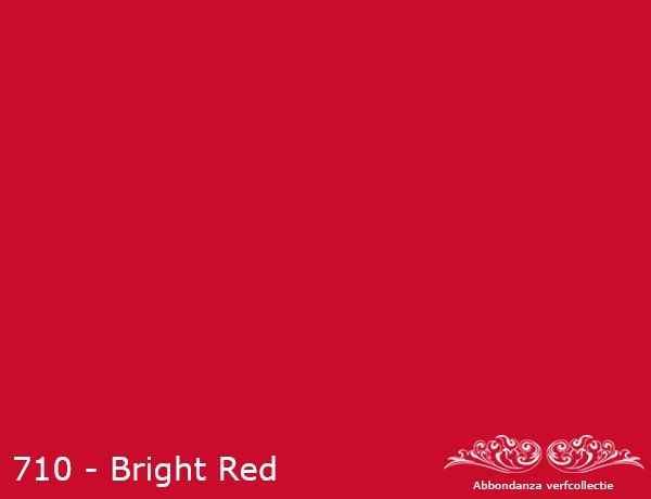 "Krijtverf ""Bright Red"""