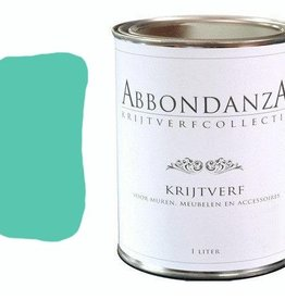 "Abbondanza Krijtverf collectie Krijtverf ""Bright Turqoise"""