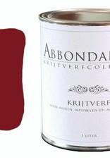 "Abbondanza Krijtverf collectie Krijtverf ""Burgundy"""