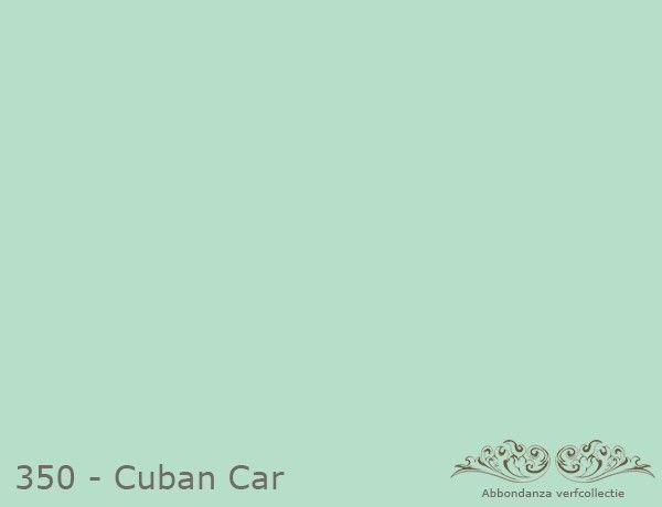 "Abbondanza Krijtverf collectie Krijtverf ""Cuba Car"""