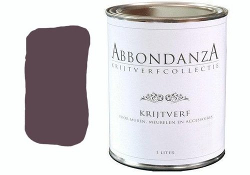 "Abbondanza Krijtverf collectie Krijtverf ""Aubergine"""