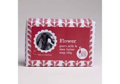 Laughing Bird Shea Butter and Goats Milk Soap - Flower