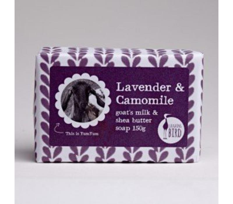 Shea Butter and Goats Milk Soap - Lavender and Chamomile