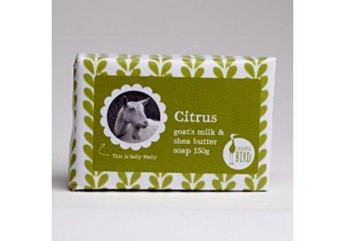 Laughing Bird Shea Butter and Goats Milk Soap - Citrus