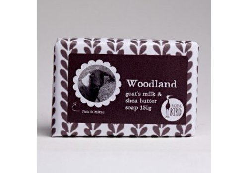 Laughing Bird Shea Butter and Goats Milk Soap - Woodland