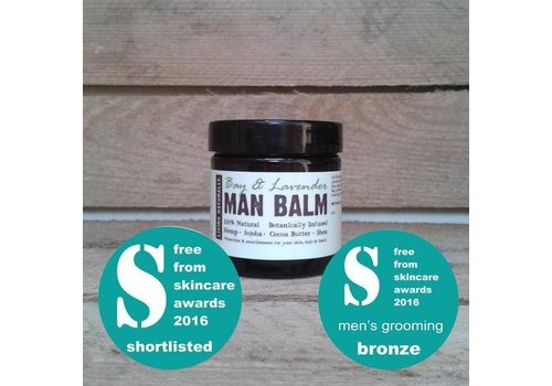 Living Naturally Beard Balm - Bay and Lavender