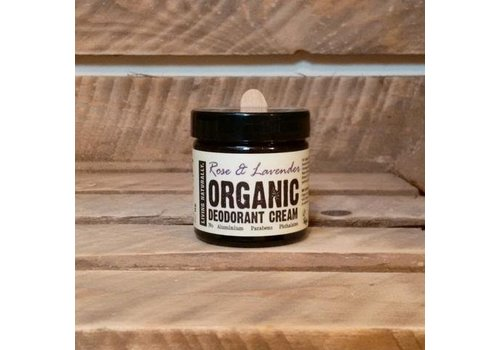 Living Naturally Deodorant Cream - Rose and Lavender