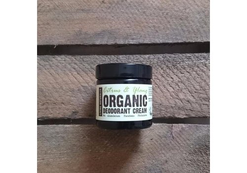 Living Naturally Deodorant Cream - Citrus and Ylang Ylang
