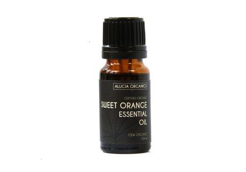 Alucia Organics Essential Oil:  Sweet Orange : Organic 10ml