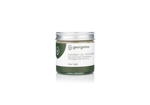 Georganics Organic Natural Toothpaste: Coconut Tea Tree