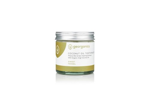 Georganics Organic Natural Toothpaste: Coconut Fennel