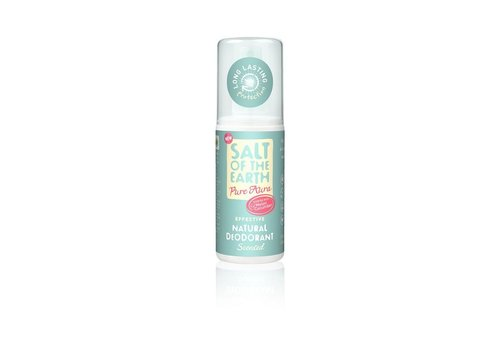 Salt of the Earth Natural Deodorant Spray - Pure Aura Melon