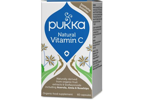 Pukka Natural Vitamin C, Organic