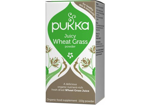 Pukka Juicy Wheat Grass, Organic
