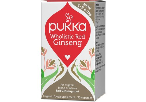 Pukka Wholistic Red Ginseng, Organic