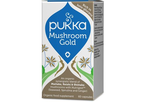 Pukka Mushroom Gold, Organic