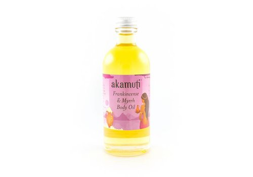 Akamuti Body Oil: Frankincense and Myrrh