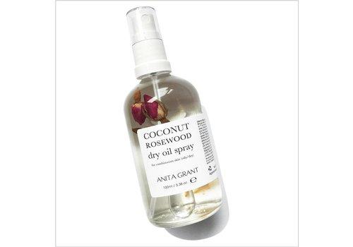 Anita Grant Coconut Rosewood Dry Oil Spray