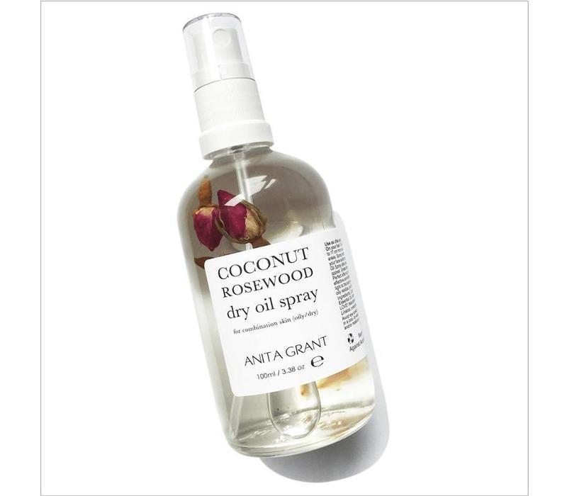 Coconut Rosewood Dry Oil Spray
