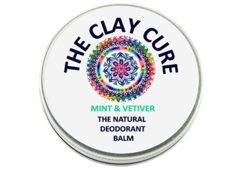 The Clay Cure Deodorant Balm - Mint & Vetiver