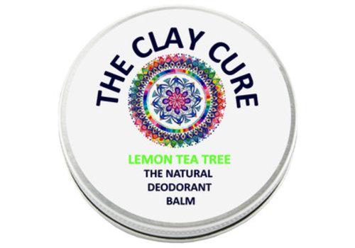 The Clay Cure Deodorant Balm - Lemon Tea Tree
