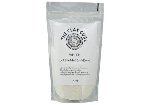 The Clay Cure Bath Blend - White