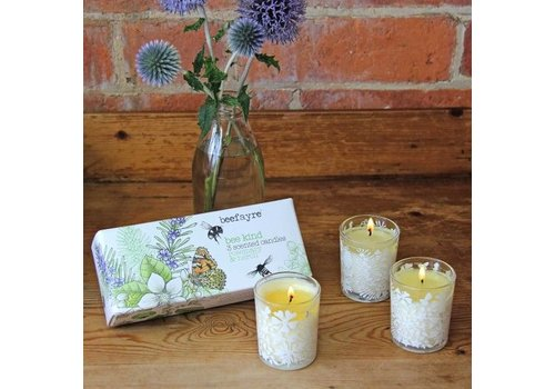 Beefayre Bee Kind Rosemary and Neroli Votive Set