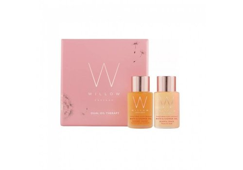 Willow Bath and Shower Oil Duo