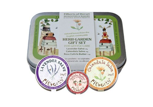 Filberts of Dorset Gift Tin: Herb Garden Gift Set