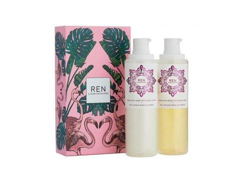 REN Gift Set - Rose Duo