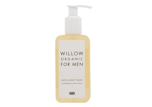 Willow Men's Organic Face and Body Wash
