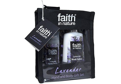 Faith In Nature Gift Pack - Lavender Hand & Body Gift Set