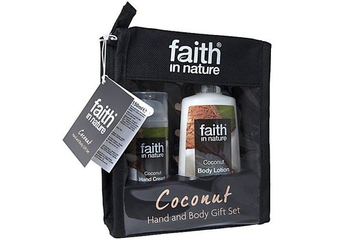 Faith In Nature Gift Pack - Hand & Body Coconut Gift Set