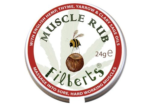 Filberts of Dorset Salve: Muscle Rub 24g