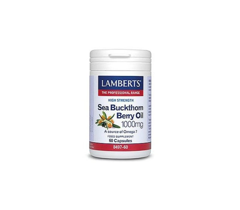 Sea Buckthorn Berry Oil 1000mg 60 capsules