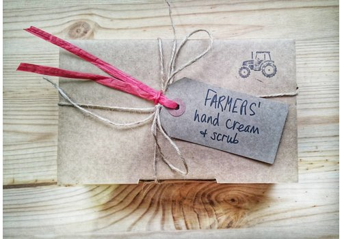 Welsh Lavender Farmers' Christmas Hand and Scrub Set