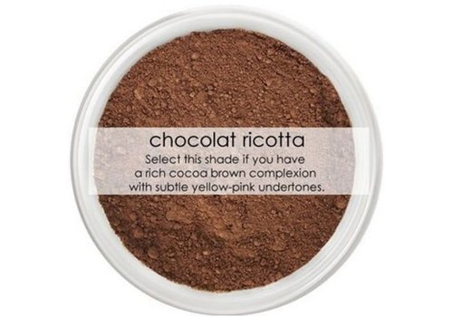 Anita Grant Mineral Foundation: Chocolate Ricotta