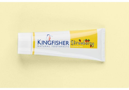 Kingfisher Toothpaste - Strawberry Fluoride Free 75ml