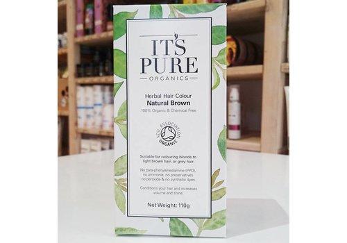 It's Pure Organics Organic Natural Brown Henna Powder